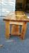 Cedar table set
