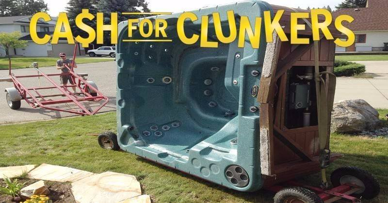 cash for hot tub clunkers in penticton bc. Black Bedroom Furniture Sets. Home Design Ideas